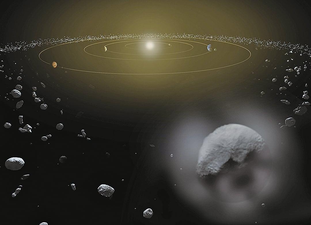 星際空間有很多小行星。NASA的科學家表示,來自太空90%的危險是無法提前預知的。(NASA)