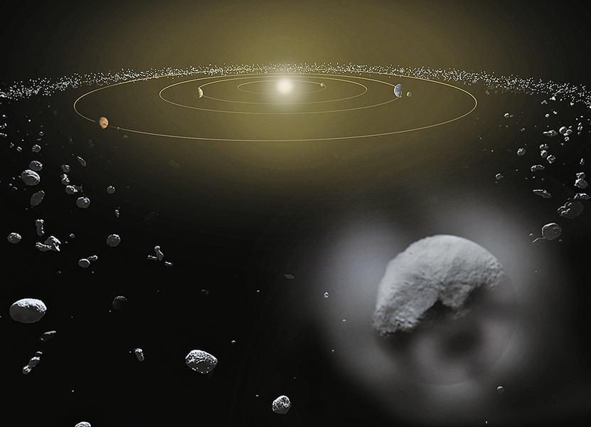 大如樓房 一小行星正飛向地球