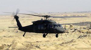 美軍黑鷹直昇機墜毀 五人失蹤