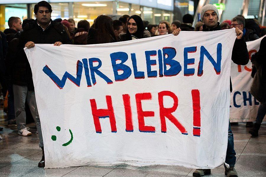 困難重重 德國上半年387次遣返難民被迫中斷