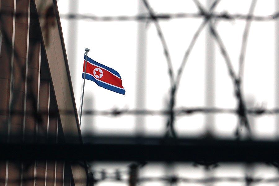 在國際壓力下,近期北韓境內的中國企業大舉撤出。有分析認為,這顯示中朝關係跌入谷底。(Stephen Shaver/Polaris)