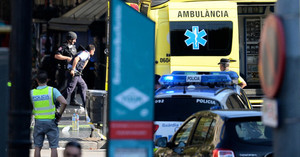 巴塞隆拿恐襲13死逾百傷 3疑犯被捕