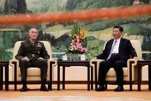 習近平會晤鄧福德 外媒:向北韓發出警告