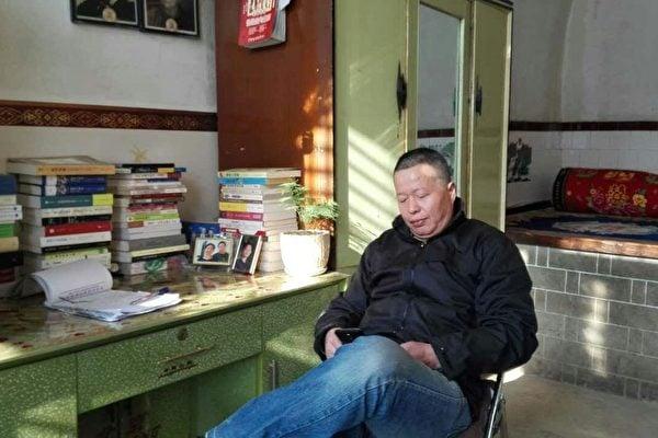高智晟出獄後被中共軟禁在陝西老家。(網絡圖片)