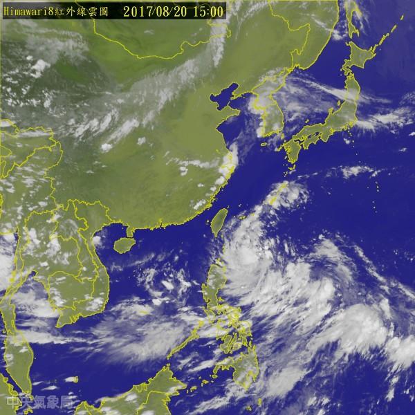 颱風「天鴿」形成 台灣最快今晚發海上警報