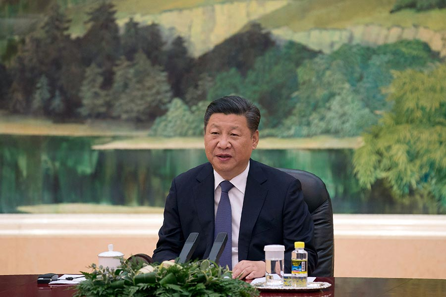 習近平若能作出正確的選擇、拋棄共產黨,政治生涯將邁上高峰。(NG HAN GUAN/AFP/Getty Images)