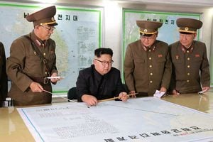 傳北韓政府大樓出現反金正恩塗鴉