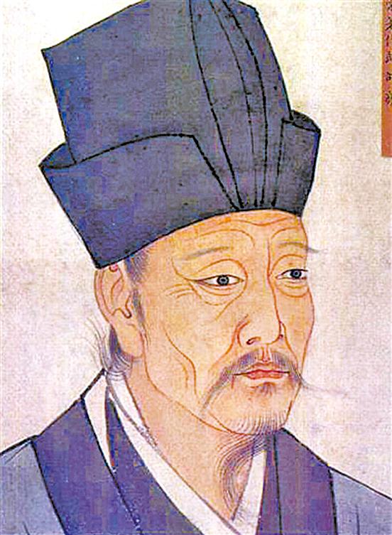 邵雍圖(清宮殿藏畫本, 維基百科)