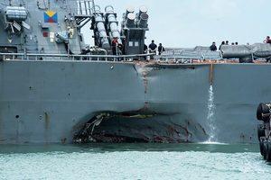 美國軍艦被撞 英媒:或遭中共船隻黑手
