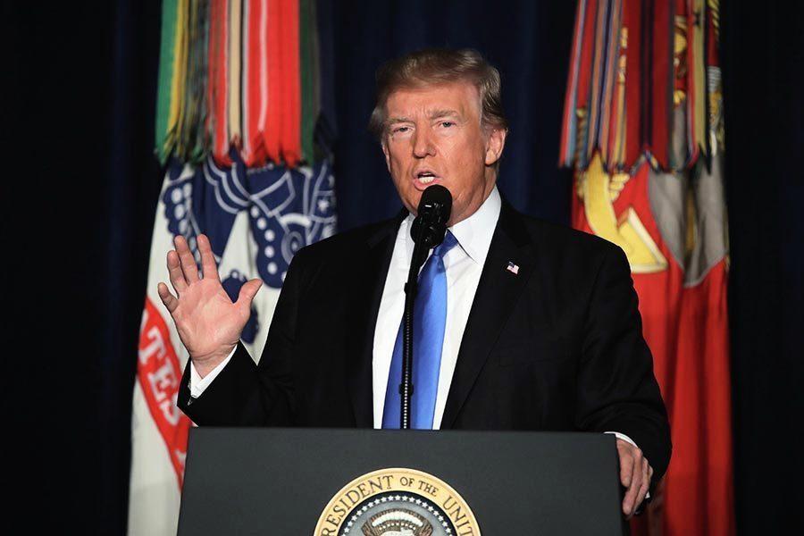特朗普宣佈對阿富汗及南亞新戰略