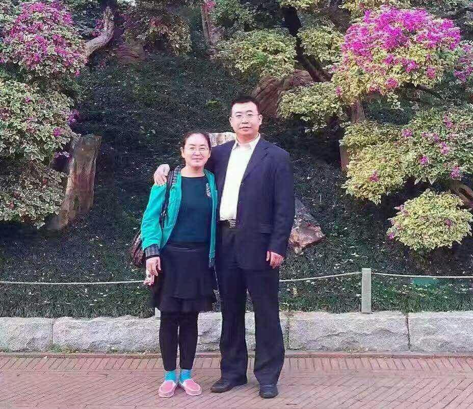 709律師江天勇案8月22日在長沙中院庭審,他的妻子金變玲表示,這是違法的庭審。(推特圖片)