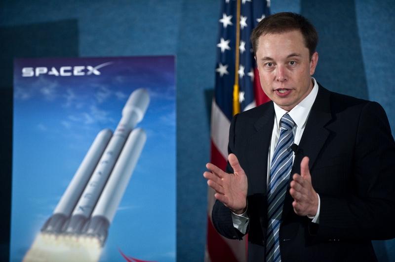 特斯拉(Tesla)和太空探索科技公司(Space X)CEO伊隆・馬斯克(Elon Musk)。(Nicholas KAMM/AFP)