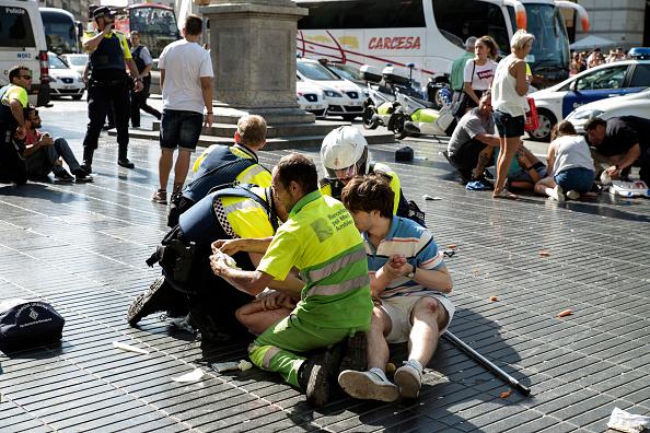 巴塞隆拿恐襲主嫌被警方擊斃
