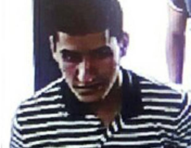 上周在巴塞隆拿駕車襲擊行人的摩洛哥男子Younes Abouyaaqoub於周一(8月21日)下午被西班牙警方擊斃。(Spanish Interior Ministry)