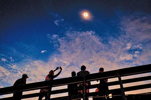 南卡州是全美日全食結束的地方。(Getty Images)