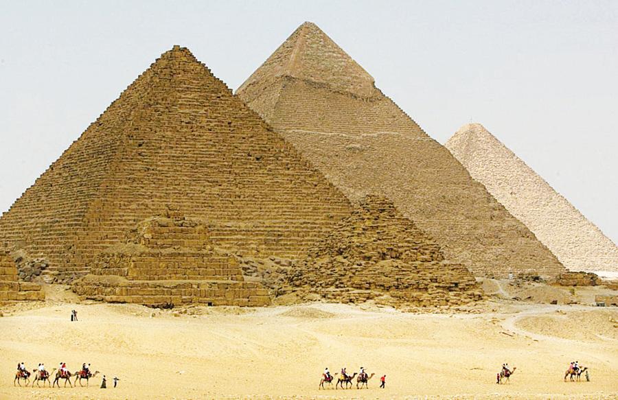 無所不在的金字塔(1)