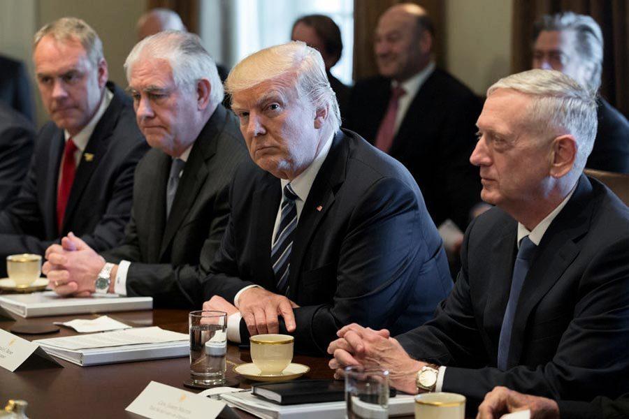 外媒:特朗普政府討論對朝「預防性戰爭」方案