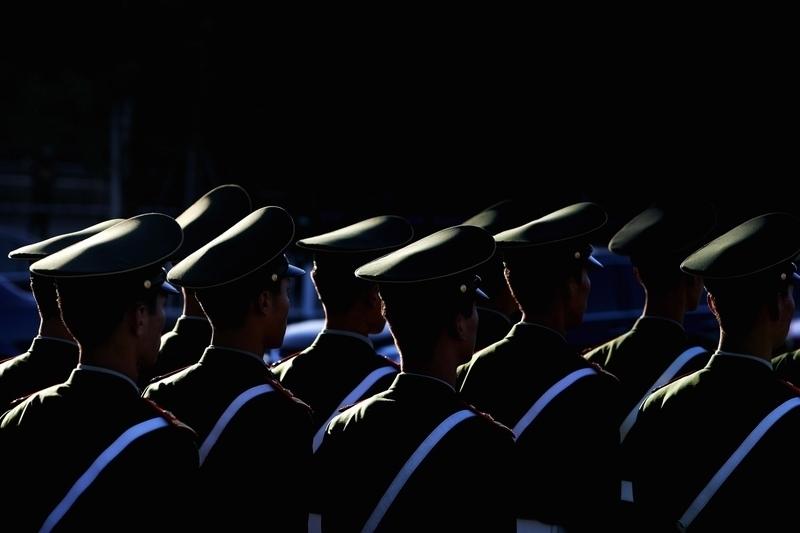 中國大陸各地徵兵體檢工作如今漸漸入尾聲,然而某地體檢不合格率竟高達56.9%。(Guang Niu/Getty Images)