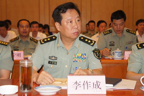 李作成受到習近平的器重,有消息指他或有可能接任中共軍委副主席。(網絡圖片)