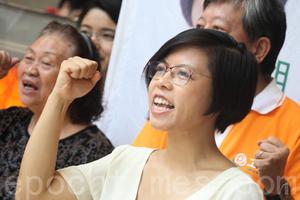 工黨主席胡穗珊辭職兼退黨 稱黨內架構不公道不公義