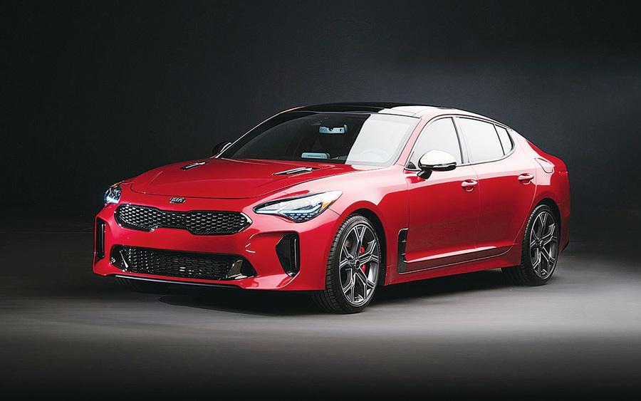Kia Stinger夢想版上市 提升駕駛性能和設計感