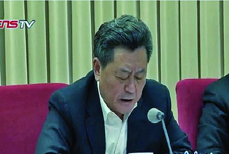 國僑辦副主任李剛(正部級)。(視頻截圖)