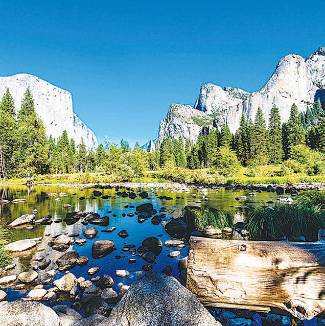 優勝美地國家公園的美景世界馳名。(Shutterstock)