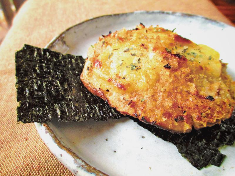 【創意料理】大香菇吞拿魚堡