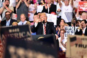 特朗普鳳凰城集會演講 抨擊媒體扭曲事實