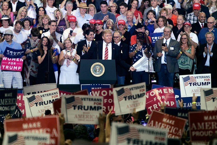 特朗普周二鳳凰城演說 四大看點在這裏