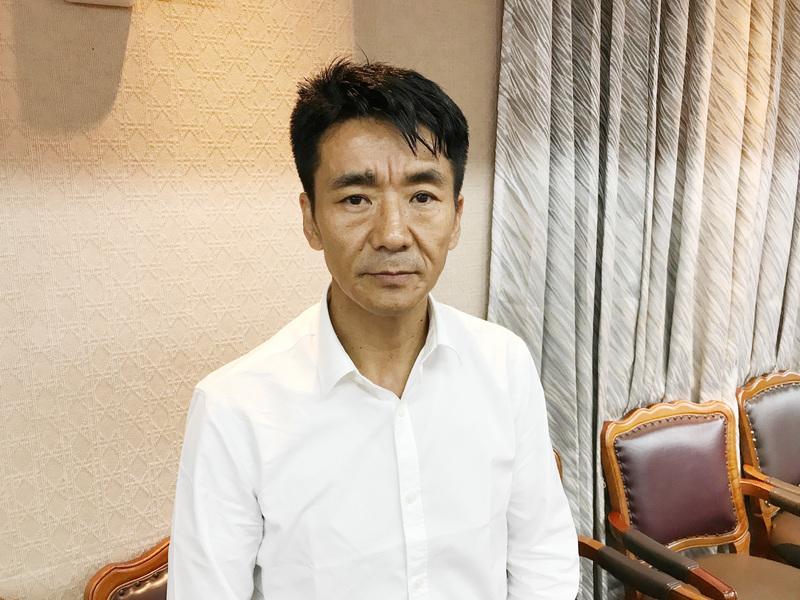 在台流亡藏人扎西慈仁8月24日表示,中共持續加深對藏人的宗教打壓。(中央社)