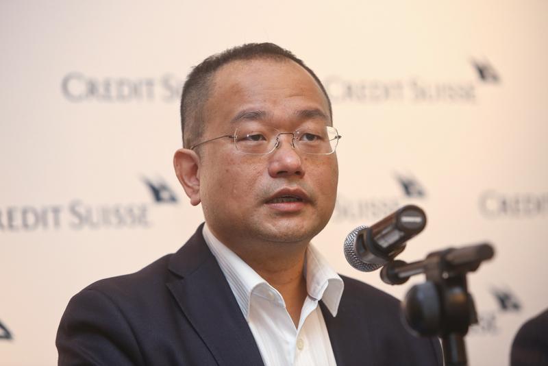 瑞信證券研究董事總經理陳昌華表示,因債務增長趨勢難解,對大陸經濟前景仍感悲觀。(余鋼/大紀元)