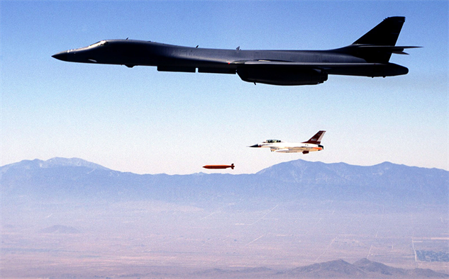 美國空軍B-1B轟炸機。(美國空軍ACC官網)
