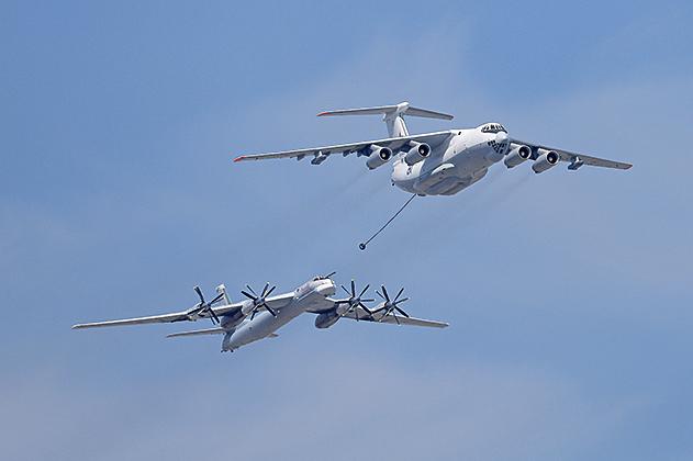 俄轟炸機飛太平洋 日韓戰機急升空伴飛