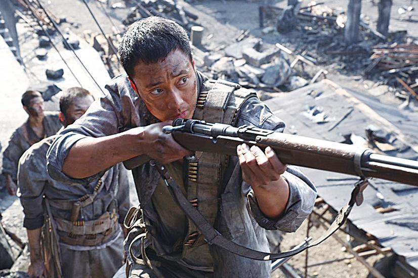在逃離戰火時,蘇志燮拿起槍,為掩護同胞,拼盡最後一絲力氣與日軍拼殺,用自己的生命為他人創造了生的機會。(車庫提供)