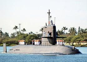 美菲聯合軍演 日潛艇助陣亮相