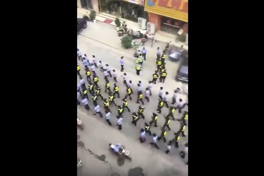 一級戰備?傳大批警力進駐江蘇丹陽