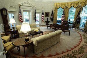 白宮換新裝 特朗普政府選用「美國製造」材料