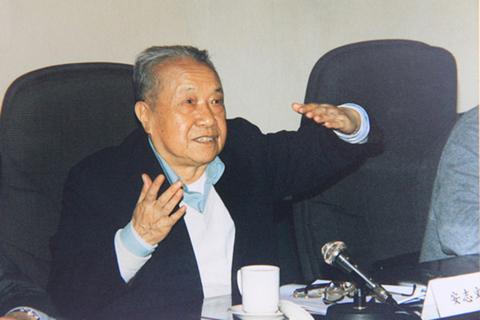 8月24日,中共前黨魁江澤民缺席原中共中顧委委員安志文(圖)的遺體告別儀式。(網絡圖片)