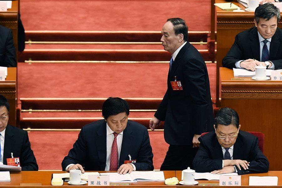 傳十九大提前召開 政治局常委已定六人
