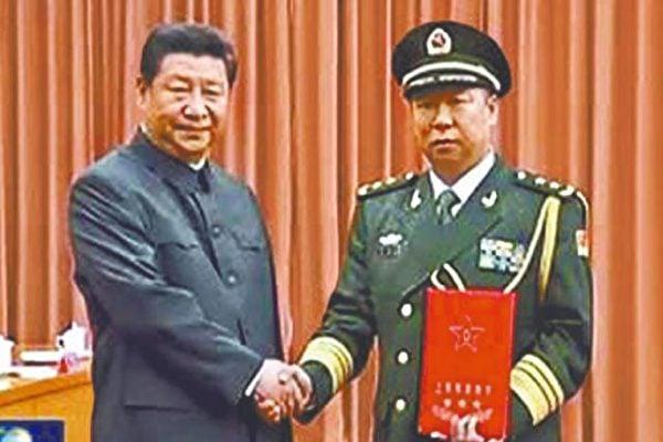 中共上將、陸軍司令員李作成出任中央軍委聯合參謀部參謀長。(網絡圖片)
