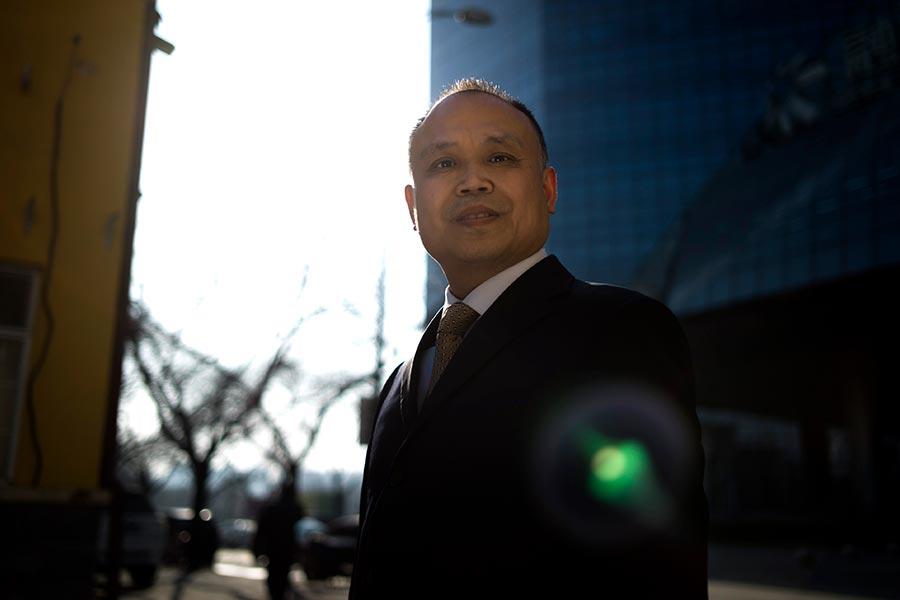 2017年1月11日,維權律師余文生就其因香港「佔中」被羈押期間遭到酷刑等身體及精神上的相關損失提出國家賠償。圖為資料圖片。(Getty Images)