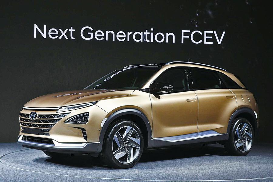 現代明年初推出新燃料電池SUV
