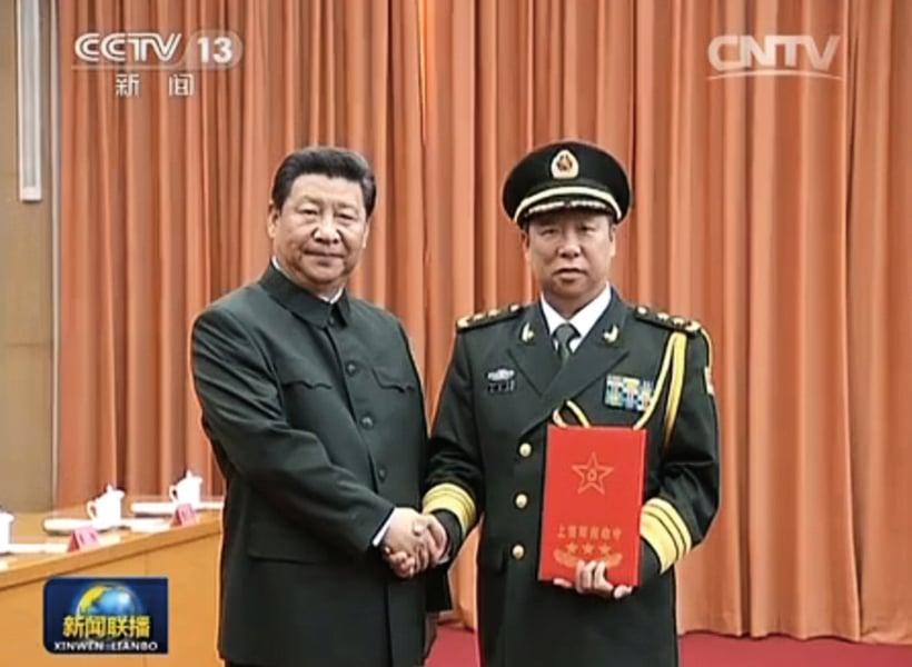 軍界重磅消息 李作成任聯合參謀部參謀長