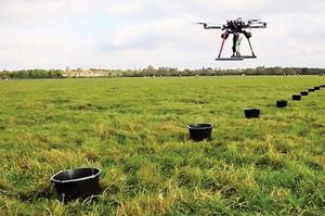 無人機新用途 每天種樹10萬棵