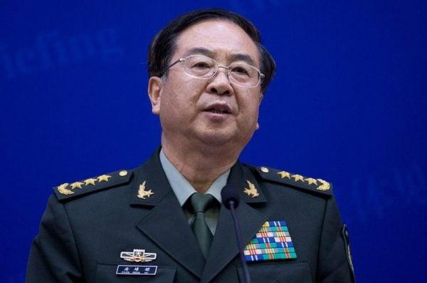 中共陸軍司令員李作成任軍委聯合參謀部參謀長,前參謀長房峰輝(圖)的去向成謎。(網絡圖片)