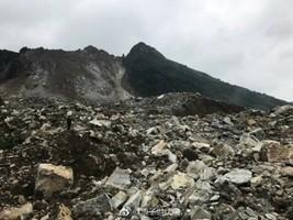 貴州畢節山體垮塌掩埋一村莊 2死25失聯