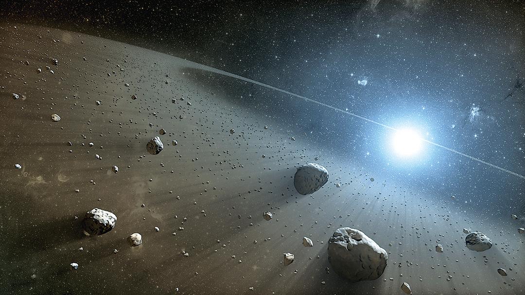 每天都有許多很小的天體進入地球大氣層,燃燒之後形成流星。如果大點的小行星撞擊地球,很可能就是人類文明的終結。(維基百科)