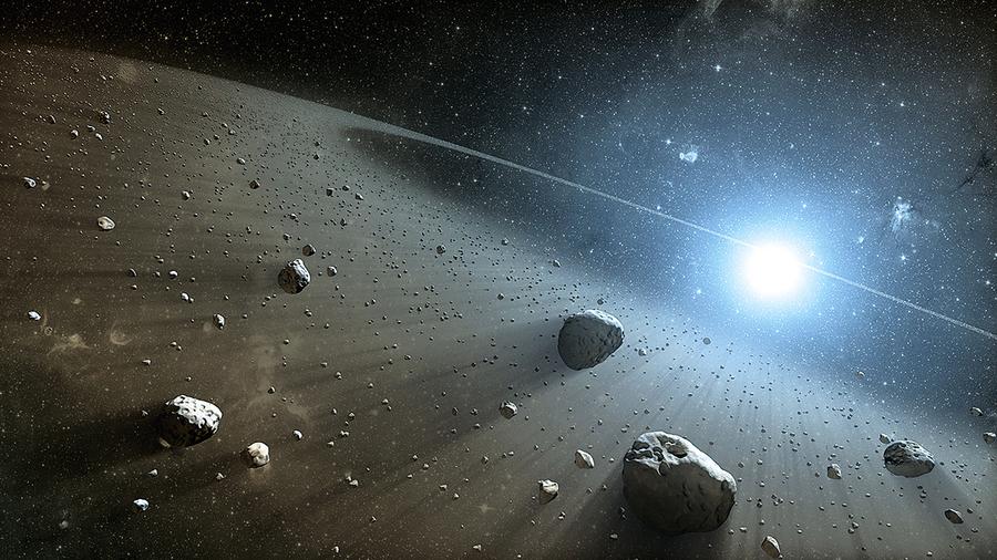 六千萬年前地球被撞陷入黑暗兩年