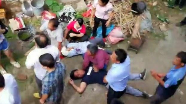 廣西貴港數百人強拆 毆打村民致多人受傷